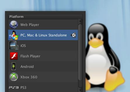 Unity 4 linux build